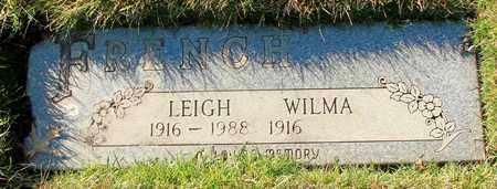 FRENCH, LEIGH EARL - Polk County, Oregon | LEIGH EARL FRENCH - Oregon Gravestone Photos