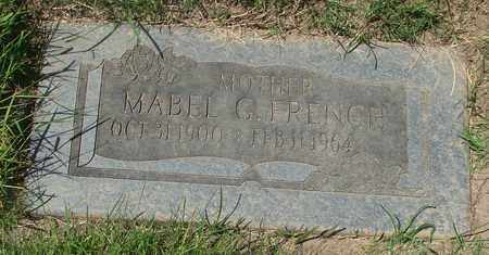 FRENCH, MABEL G - Polk County, Oregon | MABEL G FRENCH - Oregon Gravestone Photos
