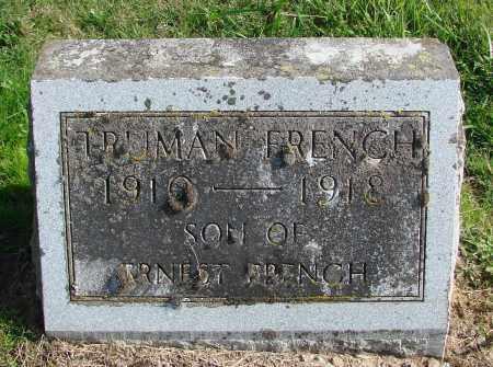 FRENCH, TRUMAN - Polk County, Oregon | TRUMAN FRENCH - Oregon Gravestone Photos
