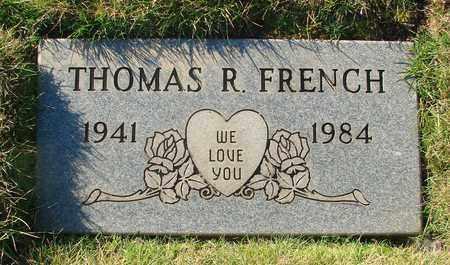 FRENCH, THOMAS RAY - Polk County, Oregon | THOMAS RAY FRENCH - Oregon Gravestone Photos