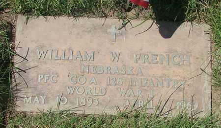 FRENCH, WILLIAM W - Polk County, Oregon | WILLIAM W FRENCH - Oregon Gravestone Photos