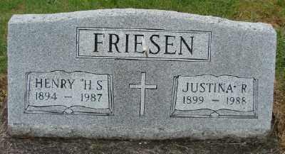 FRIESEN, JUSTINA R - Polk County, Oregon | JUSTINA R FRIESEN - Oregon Gravestone Photos
