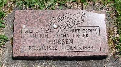 FRIESEN, MURIEL LEONA - Polk County, Oregon | MURIEL LEONA FRIESEN - Oregon Gravestone Photos