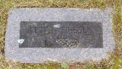 FRIESEN, PETER - Polk County, Oregon   PETER FRIESEN - Oregon Gravestone Photos