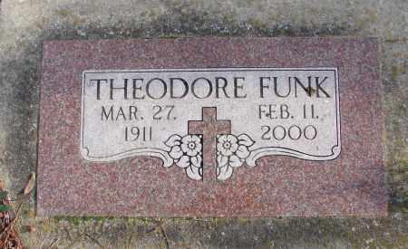 FUNK, THEODORE - Polk County, Oregon   THEODORE FUNK - Oregon Gravestone Photos