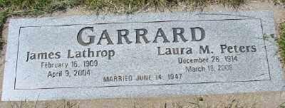 GARRARD, JAMES LATHROP - Polk County, Oregon | JAMES LATHROP GARRARD - Oregon Gravestone Photos