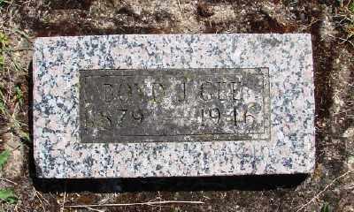 GEE, BOYD J - Polk County, Oregon   BOYD J GEE - Oregon Gravestone Photos