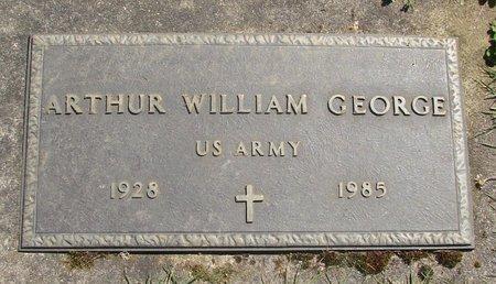 GEORGE, ARTHUR WILLIAM - Polk County, Oregon | ARTHUR WILLIAM GEORGE - Oregon Gravestone Photos