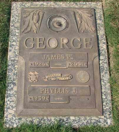 GEORGE, JAMES W - Polk County, Oregon | JAMES W GEORGE - Oregon Gravestone Photos