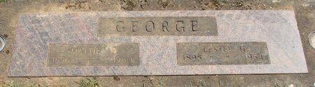 GEORGE, MARTHA FLORENCE - Polk County, Oregon | MARTHA FLORENCE GEORGE - Oregon Gravestone Photos