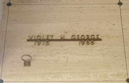 GEORGE, VIOLET HELMA - Polk County, Oregon | VIOLET HELMA GEORGE - Oregon Gravestone Photos
