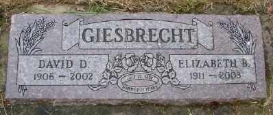 GIESBRECHT, ELIZABETH B - Polk County, Oregon | ELIZABETH B GIESBRECHT - Oregon Gravestone Photos