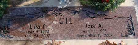 GIL, JOSE A - Polk County, Oregon | JOSE A GIL - Oregon Gravestone Photos