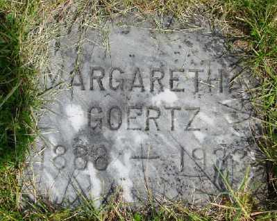 GOERTZ, MARGARETHA - Polk County, Oregon   MARGARETHA GOERTZ - Oregon Gravestone Photos