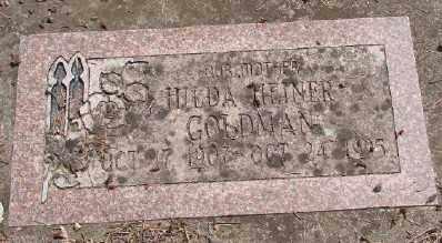 HEINER, HILDA - Polk County, Oregon | HILDA HEINER - Oregon Gravestone Photos