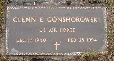 GONSHOROWSKI, GLENN E - Polk County, Oregon | GLENN E GONSHOROWSKI - Oregon Gravestone Photos