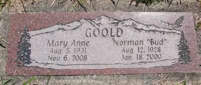 GOOLD, NORMAN - Polk County, Oregon | NORMAN GOOLD - Oregon Gravestone Photos