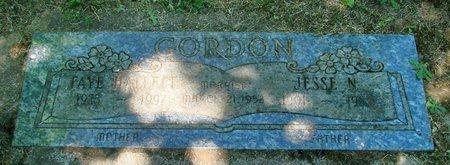 GORDON, JESSE N - Polk County, Oregon | JESSE N GORDON - Oregon Gravestone Photos