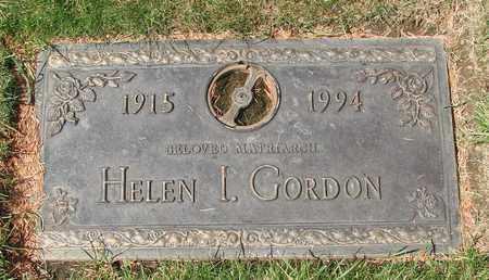 GORDON, HELEN ISABEL - Polk County, Oregon | HELEN ISABEL GORDON - Oregon Gravestone Photos