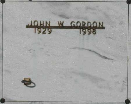 GORDON, JOHN WILLIAM - Polk County, Oregon | JOHN WILLIAM GORDON - Oregon Gravestone Photos
