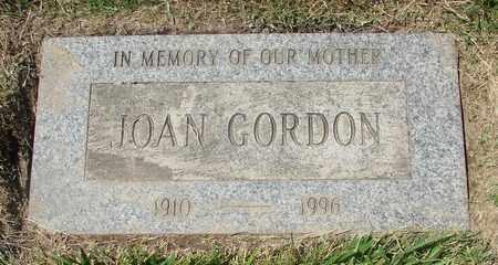 GORDON, JOAN - Polk County, Oregon   JOAN GORDON - Oregon Gravestone Photos