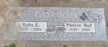 GORDON, RUBY E - Polk County, Oregon | RUBY E GORDON - Oregon Gravestone Photos