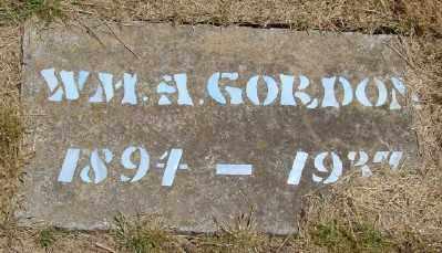 GORDON, WILLIAM A - Polk County, Oregon | WILLIAM A GORDON - Oregon Gravestone Photos