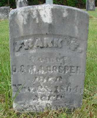 GOSPER, FRANK F - Polk County, Oregon   FRANK F GOSPER - Oregon Gravestone Photos