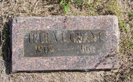 GRANT, TRULA B - Polk County, Oregon   TRULA B GRANT - Oregon Gravestone Photos