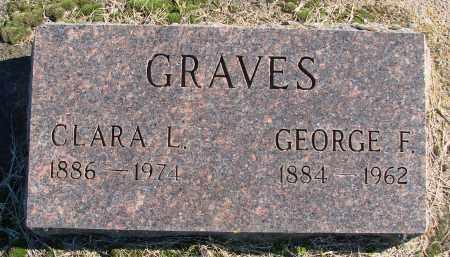 GRAVES, CLARA L - Polk County, Oregon   CLARA L GRAVES - Oregon Gravestone Photos