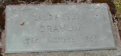 GILMORE, LAURA ELLA - Polk County, Oregon | LAURA ELLA GILMORE - Oregon Gravestone Photos