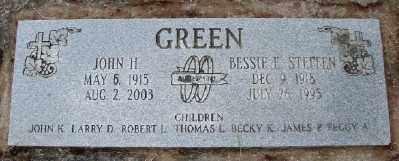 STEFFEN GREEN, BESSIE E - Polk County, Oregon | BESSIE E STEFFEN GREEN - Oregon Gravestone Photos