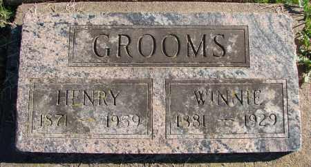 GROOMS, WINNIE GRACE - Polk County, Oregon | WINNIE GRACE GROOMS - Oregon Gravestone Photos