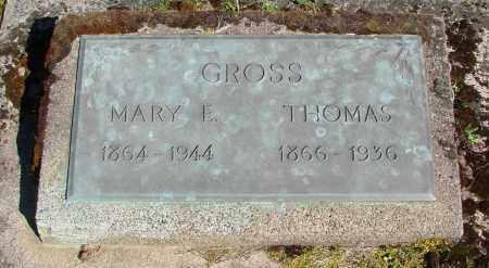 BERRY GROSS, MARY EVELYN - Polk County, Oregon | MARY EVELYN BERRY GROSS - Oregon Gravestone Photos