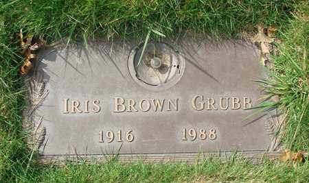 BROWN, IRIS GLADIOLA - Polk County, Oregon | IRIS GLADIOLA BROWN - Oregon Gravestone Photos