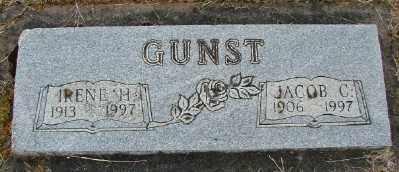 GUNST, IRENE H - Polk County, Oregon   IRENE H GUNST - Oregon Gravestone Photos