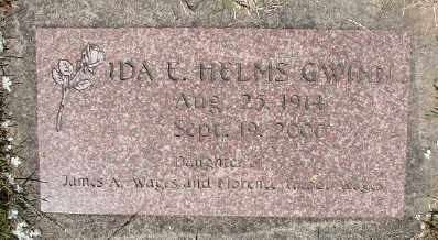 HELMS GWINN, IDA E - Polk County, Oregon | IDA E HELMS GWINN - Oregon Gravestone Photos