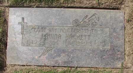 HACKETT, LAVINA - Polk County, Oregon | LAVINA HACKETT - Oregon Gravestone Photos