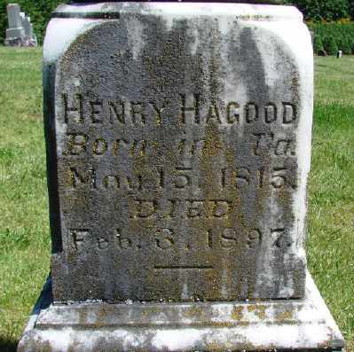 HAGOOD, HENRY - Polk County, Oregon   HENRY HAGOOD - Oregon Gravestone Photos