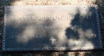 HAIGHT, LESTER ELDON - Polk County, Oregon | LESTER ELDON HAIGHT - Oregon Gravestone Photos