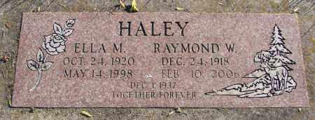 BERRY HALEY, ELLA M - Polk County, Oregon | ELLA M BERRY HALEY - Oregon Gravestone Photos