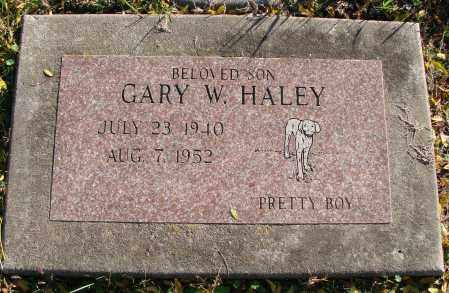 HALEY, GARY W - Polk County, Oregon   GARY W HALEY - Oregon Gravestone Photos