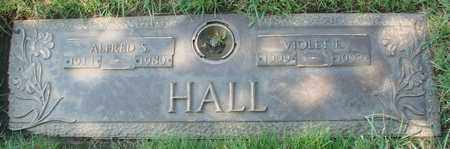 HALL, ALFRED SENUS - Polk County, Oregon | ALFRED SENUS HALL - Oregon Gravestone Photos