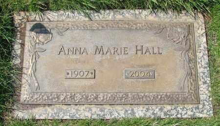 HALL, ANNA MARIE - Polk County, Oregon | ANNA MARIE HALL - Oregon Gravestone Photos