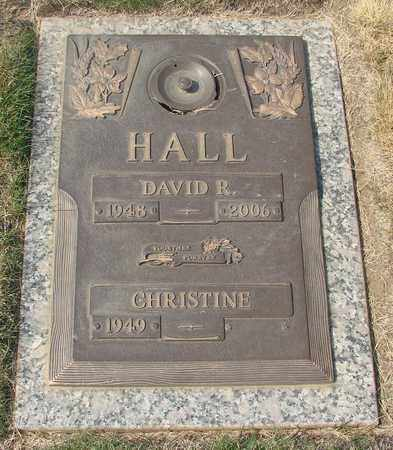 HALL, CHRISTINE - Polk County, Oregon | CHRISTINE HALL - Oregon Gravestone Photos