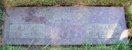 HALL, DORA N - Polk County, Oregon | DORA N HALL - Oregon Gravestone Photos