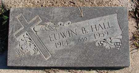 HALL, EUWIN B - Polk County, Oregon | EUWIN B HALL - Oregon Gravestone Photos