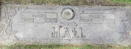 HALL, FERDIG - Polk County, Oregon | FERDIG HALL - Oregon Gravestone Photos