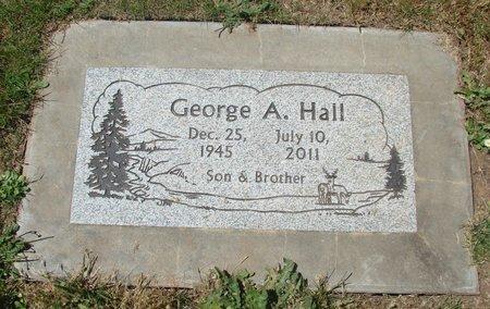 HALL, GEORGE ANTHONY - Polk County, Oregon | GEORGE ANTHONY HALL - Oregon Gravestone Photos