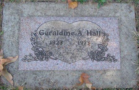 HALL, GERALDINE A - Polk County, Oregon | GERALDINE A HALL - Oregon Gravestone Photos